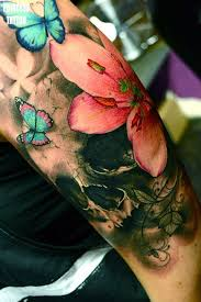 100 watercolor flower tattoo ideas long stem rose tattoo