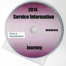 2014 dodge journey factory service manual cd rom original shop