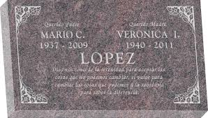 granite headstones 28 x 16 x 4 flat granite headstone honor
