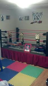 wwe bedroom a wrestling ring bed no one would sleep just play p my dream