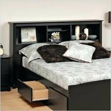 King Size Storage Headboard King Size Headboard With Storage Atestate Pertaining To Shelves