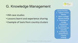 lessons learnt report template pillar 4a information management ppt video online download 23 g knowledge management