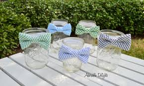 bow tie baby shower decorations set of 8 baby shower bowtie decorations elastic band bowties