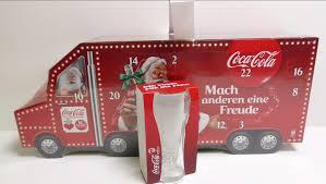 big coca cola truck advent calendar unboxing youtube