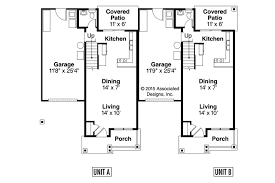 small duplex plans duplex plan cranbrook 60 009 from associated designs duplex
