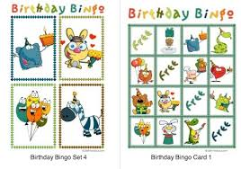 birthday bingo cards u2013 gangcraft net