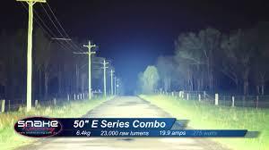 Rigid Industries 50 E Series Led Light Bar Combo Snake Racing