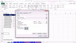 excel magic trick 1049 copy page setup from one sheet to another