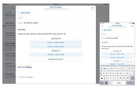 get outlook com email on your mobile device