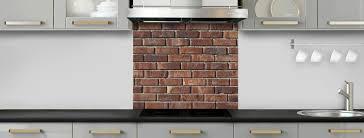 panneau fausse brique crédence de cuisine briques anciennes rouges c macredence com