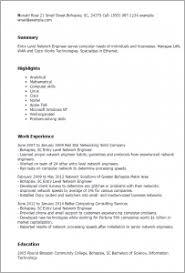 network engineer resume brilliant ideas of network engineer resume sle stunning network
