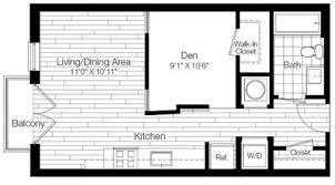 Clarendon Homes Floor Plans 19nineteen Clarendon Rentals Arlington Va Apartments Com