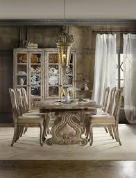 hooker furniture chatelet 7 piece dining set with refectory