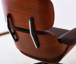 Leather Chair by Foxhunter Luxury Lounge Chair And Ottoman Real Genuine Leather