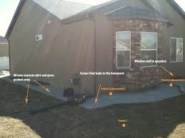 basement house basement footings walls poured wrong now basement leaks no sump
