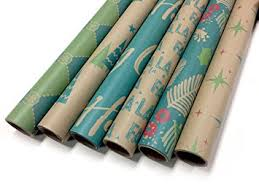 modern wrapping paper kraft modern wrapping paper set 6 rolls