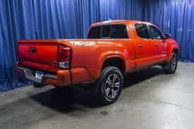 orange cars 2016 orange toyota tacoma in washington for sale used cars on