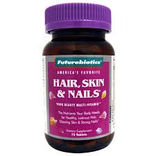 futurebiotics hair skin nails for women 75 tablets evitamins com