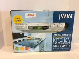 kitchen under cabinet radio cd player jwin find offers online and compare prices at storemeister