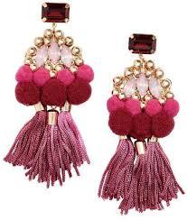 hm earrings h m tasseled earrings best jewelry gifts for women popsugar