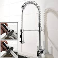 spiral kitchen faucet shaco upscale chrome stainless steel spiral single handle