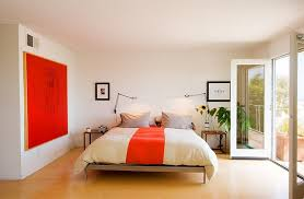 Gray And Orange Bedroom 50 Minimalist Bedroom Ideas That Blend Aesthetics With Practicality