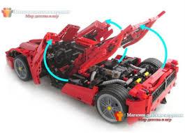 lego technic lamborghini aventador конструктор bela 9186 аналог lego 8653 racers enzo ferrari 1 10