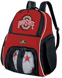 ohio state ribbon ohio state soccer backpack bag