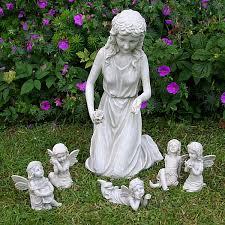 with 5 fairies garden ornaments garden ornament
