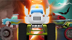 monster truck cartoon videos haunted house monster truck twist and turn cars cartoons
