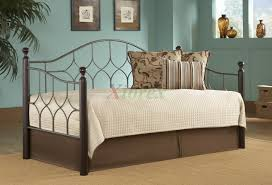 Twin Size Day Bed by Bianca Daybed Twin Size Day Bed In Espresso Hammered Pewter Xiorex