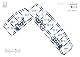 marina blue floor plans marina blue miami floorplans