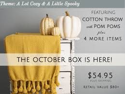 home decor subscription box pin by terrie brown on subscription boxes pinterest october