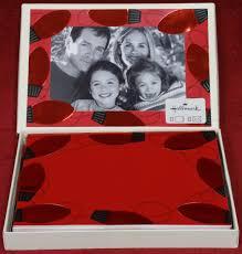 photo insert christmas cards hallmark embossed christmas lights photo insert boxed 12