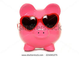 heart shaped piggy bank bank heart piggy stock images royalty free images vectors