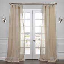 Curtains And Drapes Amazon Sheer Linen Curtains Amazon Com