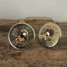 bullet stud earrings smith and wesson 38 special earrings bullet earrings stud or