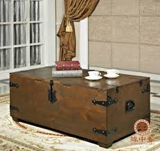 Old Wooden Coffee Tables by Retro Wood Box Storage Box Old Wood Coffee Table Desk Creative