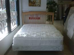 queen pillowtop mattress set with frame and headboard call a