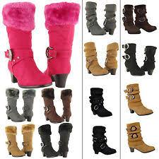 womens high heel boots size 9 high heels ebay