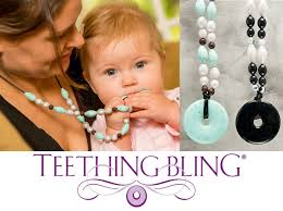 teething bead necklace images Teething bling beaded necklace jpg