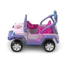 jeep purple power wheels nickelodeon dora and friends jeep wrangler 12 volt