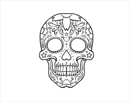 skull drawing template 14 free pdf documents free