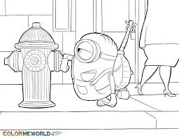 7 minions coloring pages images printable