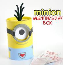 minion valentine u0027s day box the scrap shoppe