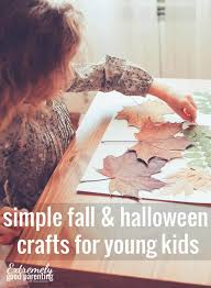 Halloween Crafts For Little Kids - easy non scary fall halloween crafts u0026 decor to create with kids