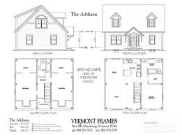 Hybrid Timber Frame Floor Plans Timber Frame Or Post U0026 Beam Homes In Vt Vermont Frames