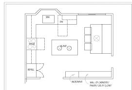 kitchen floorplans kitchen floor plans sle kitchen layouts the island house floor