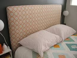 How To Make Headboard How To Make A Headboard This One Looks A Bit Cushier Make Your