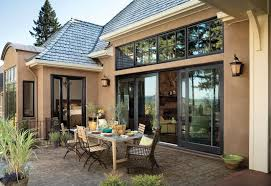 Folding Exterior French Doors - whole house window and door package includes wood bi parting